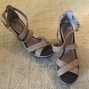 Sperry Wedge Sandals - 7.5M